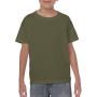 Gildan T-shirt Heavy Cotton SS for kids Military Green S