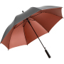 AC regular umbrella FARE®-Doubleface - grey/copper