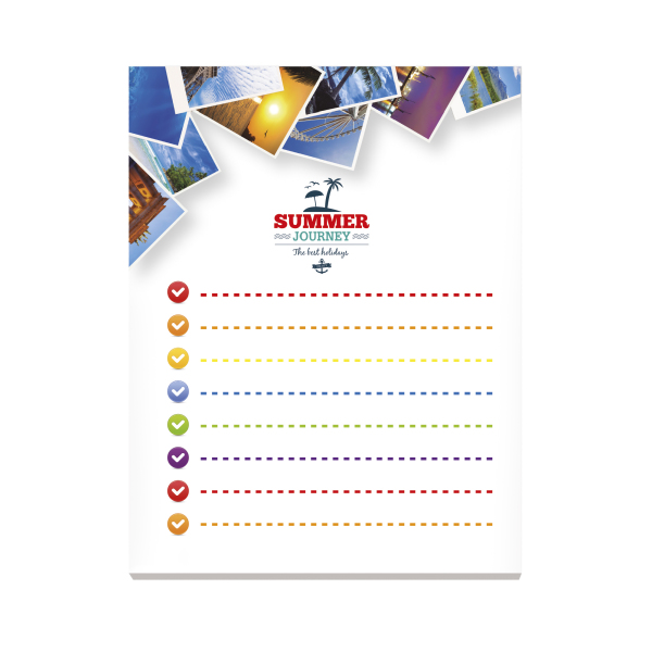 BIC® 101 mm x 130 mm 100 Sheet Adhesive Notepads Ecolutions®