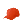 6 Panel Polyester Peach Cap grenadine
