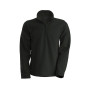 Enzo - fleece met ritskraag dark grey 4xl