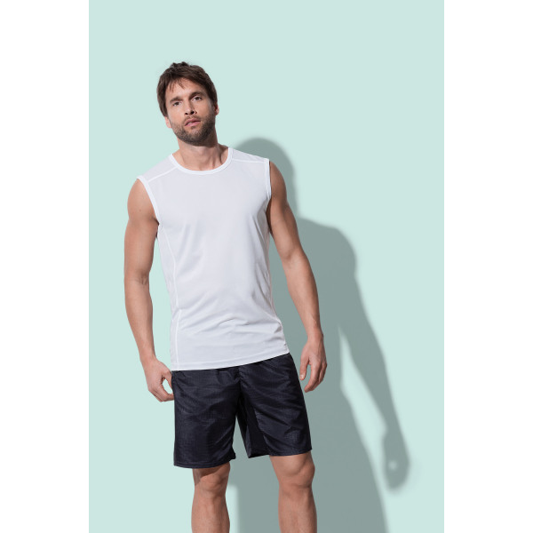 Stedman Sleeveless T-shirt Mesh Active-Dry for him
