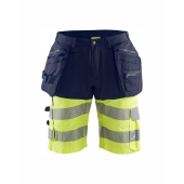 High Vis short met 4-weg stretch