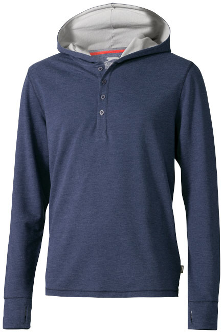 Reflex hoody - HEATHER BLUE - XL