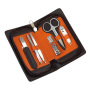 6-delig manicure set PERFECT - zilver, zwart