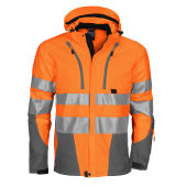 PROJOB 6419 SHELL JACKET HV ORANGE 3XL