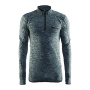 Active comfort zip men black l