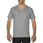 Gildan T-shirt Premium Cotton V-Neck SS for him Sport Grey XXL