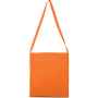 Katoenen shopper orange one size
