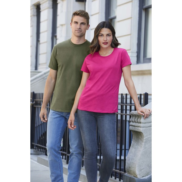 Premium cotton® ring spun euro fit adult t-shirt