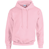 Heavy blend™ classic fit adult hooded sweatshirt light pink m