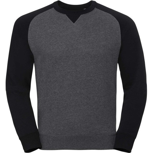 Authentic crew neck baseball sweatshirt