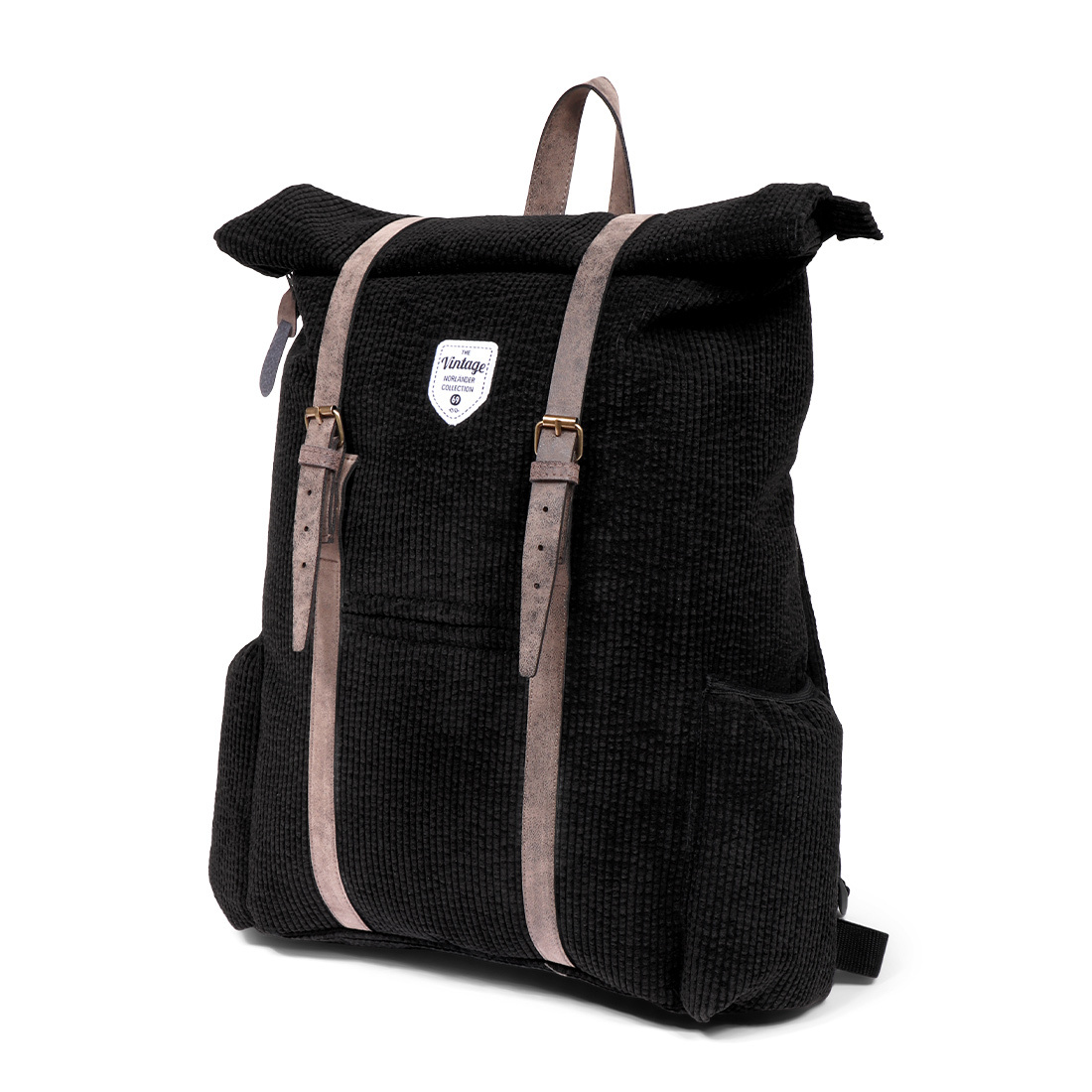 Vintage Ribble Backpack Black