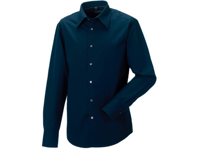 Men's long sleeve tencel® fitted shirt