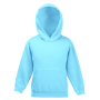 Kids Classic Hooded Sweat, Sky Blue, 14-15jr, FOL