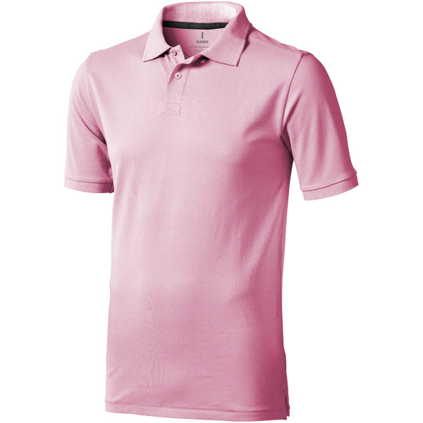 Calgary short sleeve men's polo