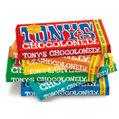 Tony's Chocolonely 180 grams reep gepersonaliseerd