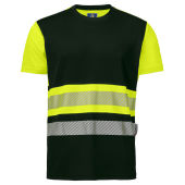 PROJOB 6020 T-SHIRT CL.1 YELLOW/BLACK XL