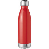 Arsenal 510 ml vacuüm geïsoleerde drinkfles - Rood