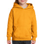 Gildan Sweater Hooded HeavyBlend for kids Gold XS