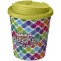 Brite-Americano Espresso® 250 ml with spill-proof lid - White/Lime