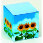 Cube Sunflower, mini-sunflower, incl. 1-4 c digital printing