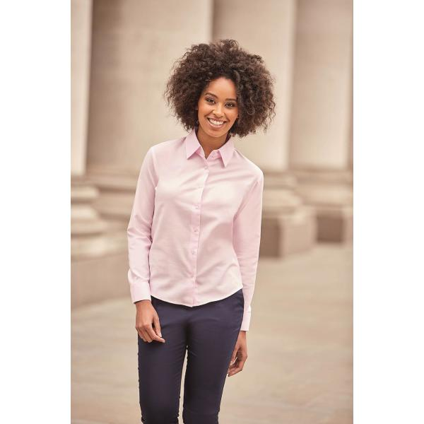 Ladies Longsleeve Classic Oxford Shirt