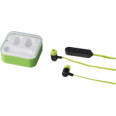 Colour-pop Bluetooth® oordopjes - Lime