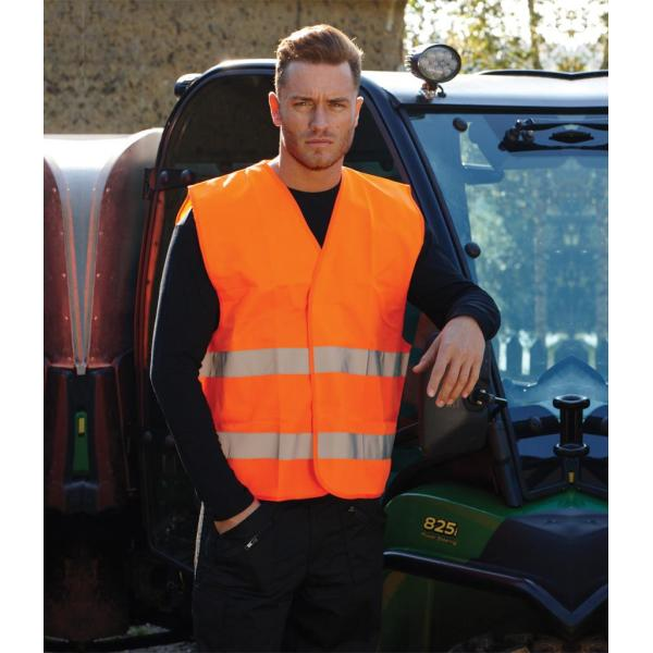 Hi-Vis Two Band Vest