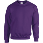 Heavy blend™ adult crewneck sweatshirt purple xl