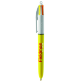 BIC® 4 Colours Sun with lanyard ballpen