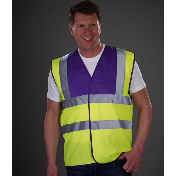Hi-Vis Two Band and Braces Waistcoat