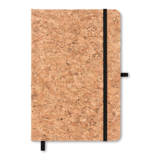 SUBER - A5 notebook with cork cover