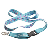 custom made sublimatie lanyard