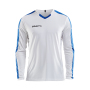 Craft Progress contrast jersey LS men white/royal xs
