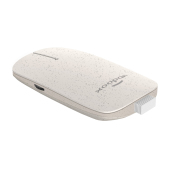 Xoopar Pokket Wireless Mouse Wheat White