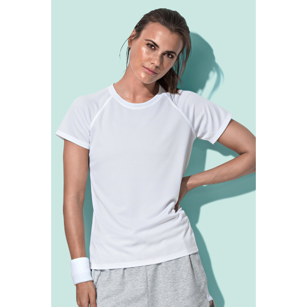 Stedman T-shirt Raglan Mesh Active-Dry SS for her