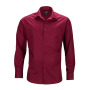 Men's Business Shirt Longsleeve wijnrood