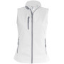 Dames softshell bodywarmer white 4xl