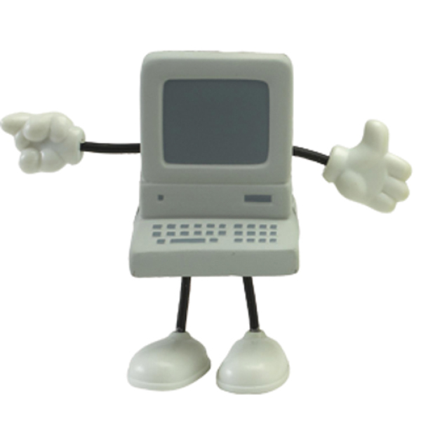 Anti-stress computer man