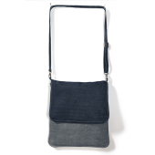 Denim Messenger Bag - DUD02