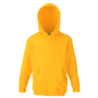 Kids Classic Hooded Sweat, Sunflower, 5-6jr, FOL