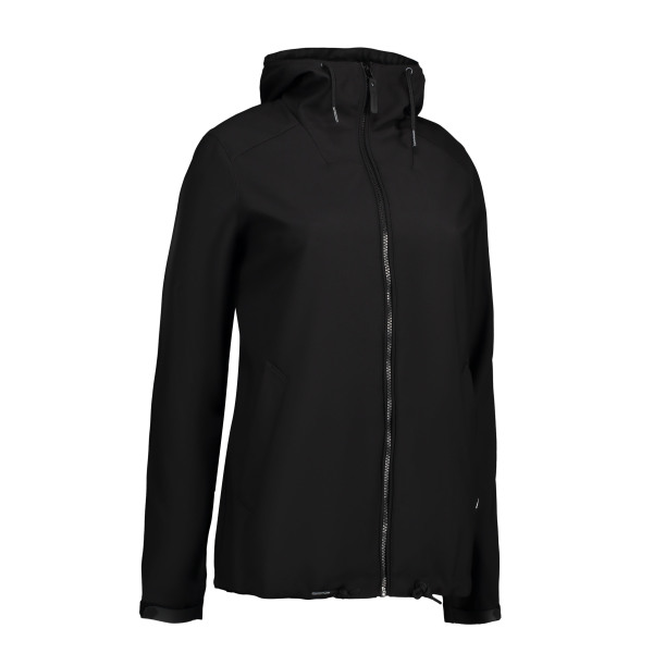 Ladies' casual soft shell jacket | hood
