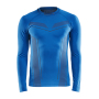 Craft Pro Control seamless jersey ls men royal blue xxl