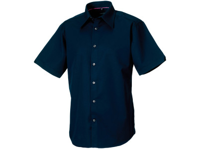 Men's short sleeve tencel® fitted shirt