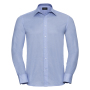 Tailored Oxford Shirt L/S, Oxford Blue, S, RUS