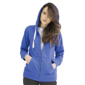 Womens Superstar zip through Hoodie