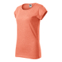 Fusion T-shirt Ladies sunset melange 2XL