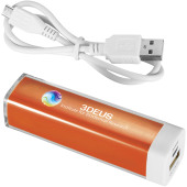 Flash powerbank 2200 mAh - Oranje
