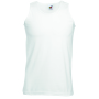 Valueweight Athletic Vest, White, XXL, FOL